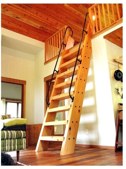 Loft access stairs and ladders - Ladders for decorating stairs ...