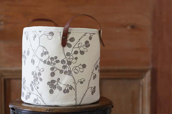 Berries Bucket by Jenna Rose Handmade modern-storage-and-organization