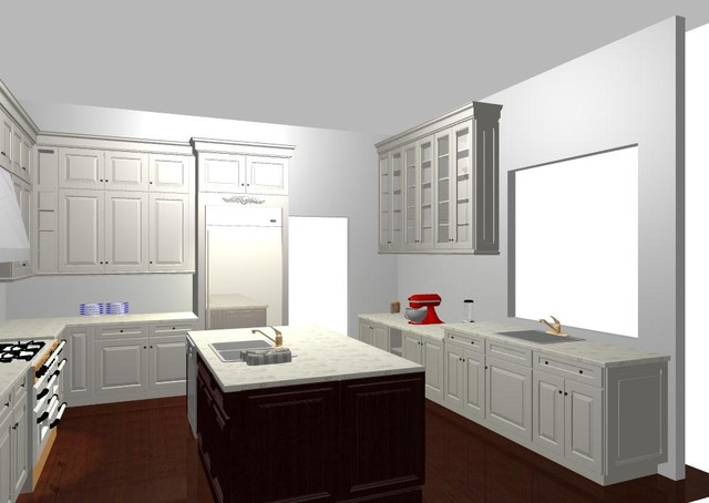 Vintage White traditional-rendering