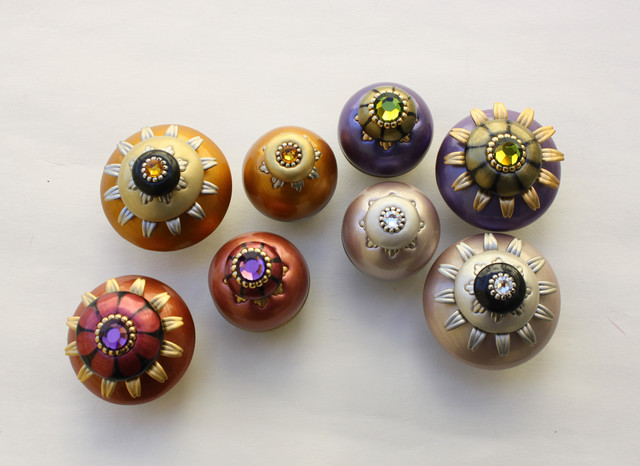 Bloomer Cabinet knobs - Contemporary - Cabinet And Drawer Knobs - san ...