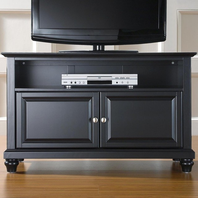 Crosley Cambridge 42 in. TV Stand - Black - KF10003DBK contemporary-furniture