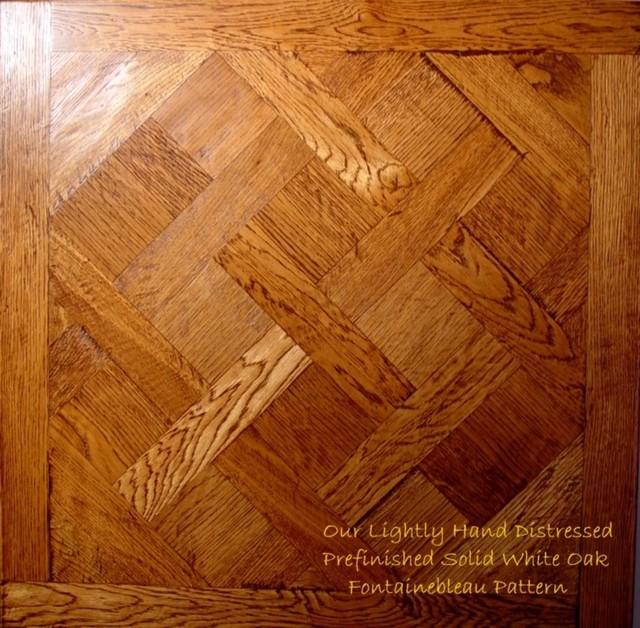 Fontainebleau Pattern Traditional Hardwood Flooring