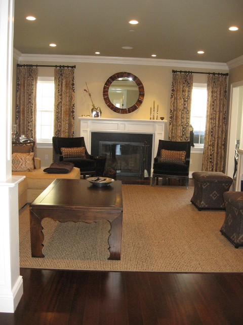 scarsdale house - family room contemporary-family-room
