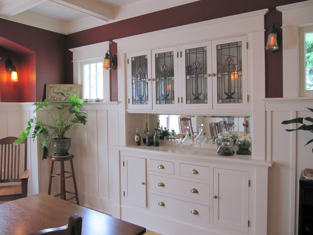 Sideboard Restored Craftsman Dining Room Seattle