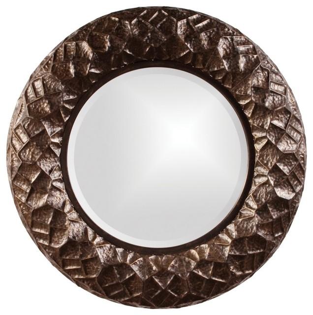 Chuck Wall Mirror - 33W x 33H in. contemporary-mirrors