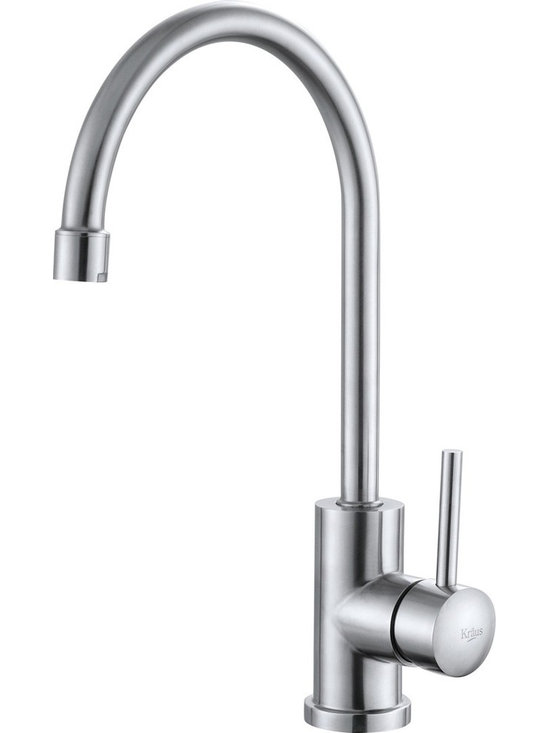 "Kraus KPF-2160 Single Lever Stainless Steel Kitchen Faucet - APPLY COUPON CODE ""EDHOUZ20"" AT CHECKOUT. JUST OUR WAY OF SAYING THANKS."
