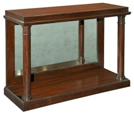 Broyhill Antiquity Console Table 8053 009 Traditional Side Tables And End Tables Salt