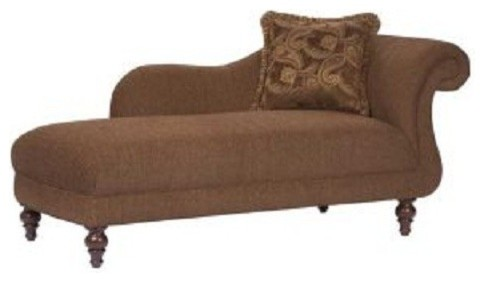 Broyhill cierra raf chaise 9464 8 traditional salt for Broyhill chaise lounge cushions