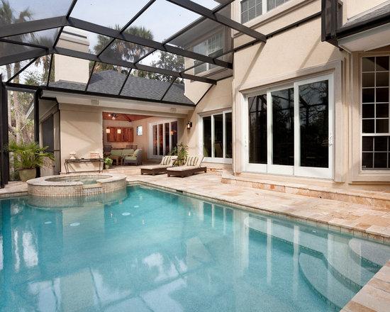 Pool screen enclosures -