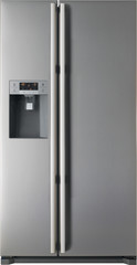 """Fagor America FQ9925XUS 36"""" Stainless Steel Side-by-Side Refrigerator with Exter"""