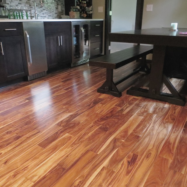Solid Acacia Blonde Prefinished Traditional Hardwood