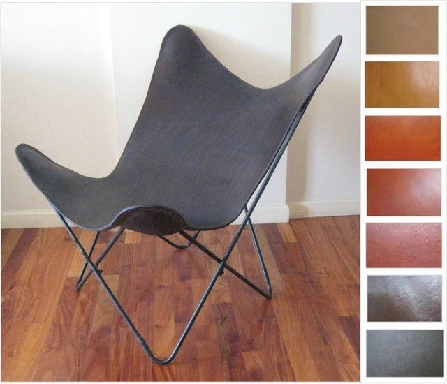 "*Original* BKF ""Seconda"" Butterfly Chair - PREMIUM LEATHER SLING HARDOY CHAIRS modern-chairs"