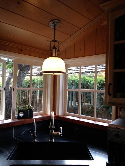 Lighting alternatives for sloped ceiling?