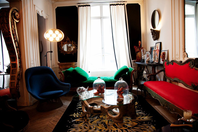 eclectic  Gorgous magpie rooms