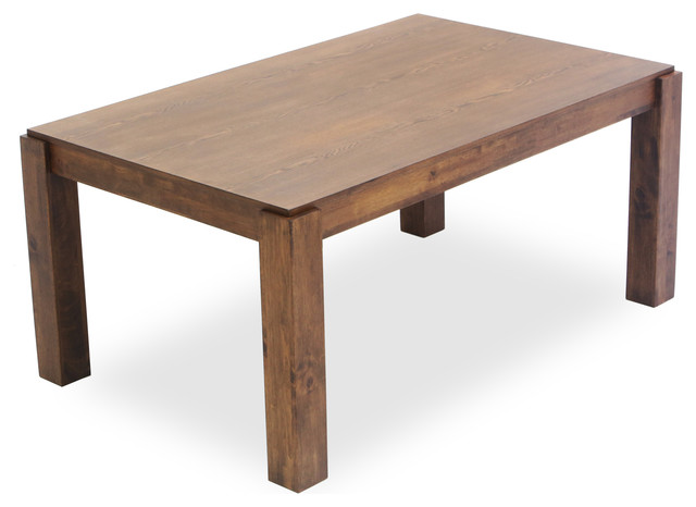 Jasper Wood Dining Table Modern Dining Tables