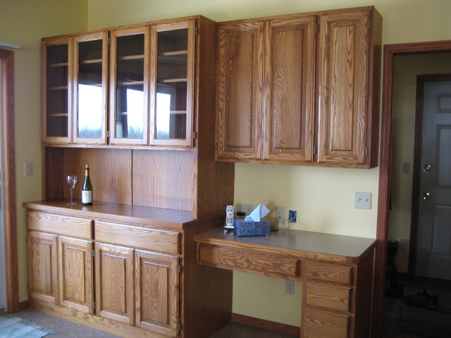 Custom Cabinetry traditional-home-office
