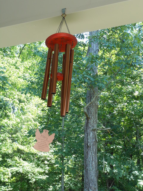Beautiful Wind Chimes on Our Front Porch - Farmhouse ...