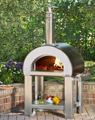 Italian Alfa Pizza Oven - wood burning outdoor portable ...