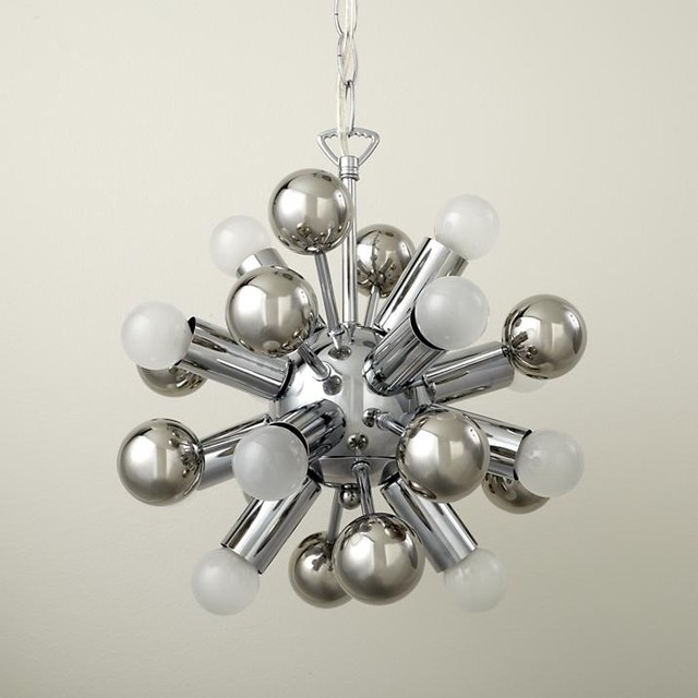 Up and Atom Chandelier eclectic children lighting
