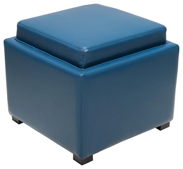 Blue Storage Ottoman | 640 x 590 · 47 kB · jpeg - Decosee: Teal Ottoman