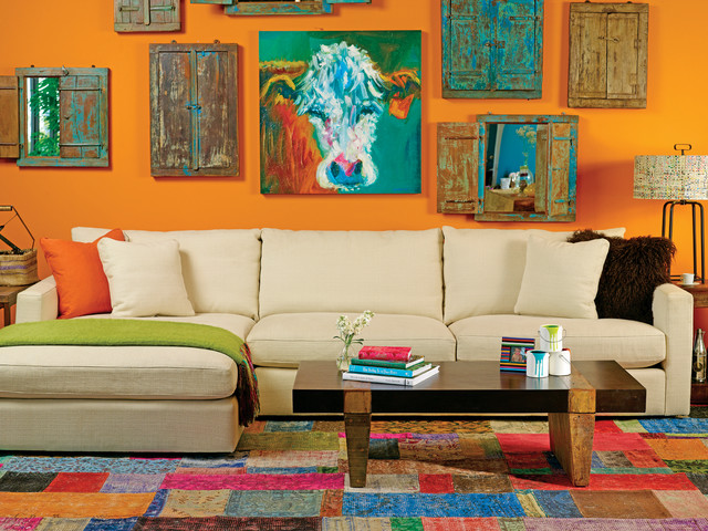 Miller Sectional - Color Block Party modern sofas