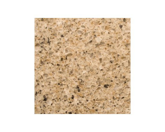 Toasted Almond - Toasted Almond Quartz is a beige durable composite with warm creams, beiges and random speckles of grays. Recommended uses include interior usage in both commercial and residential properties for floors, countertops and walls.