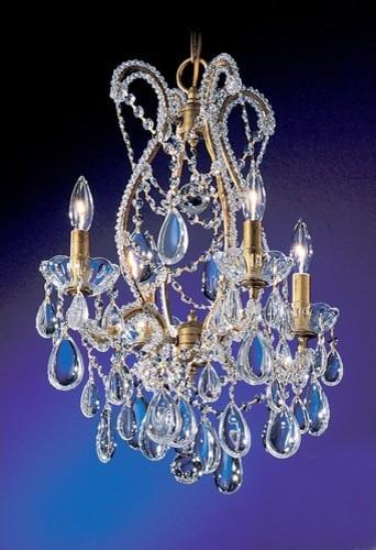 Tivoli 4 Light Chandelier modern-chandeliers