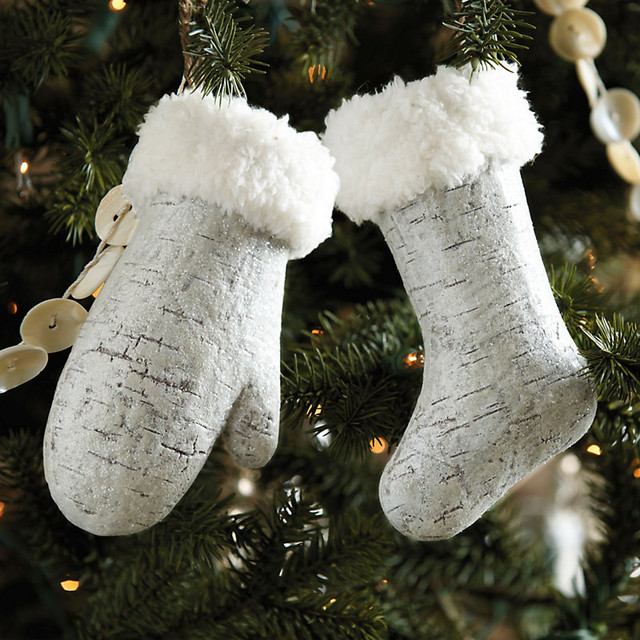 Mitten and Stocking Ornaments traditional-christmas-ornaments