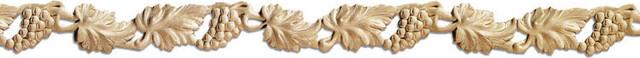 California Pierced Wood Molding - maple wood (C4P/oyfg) traditional-moulding