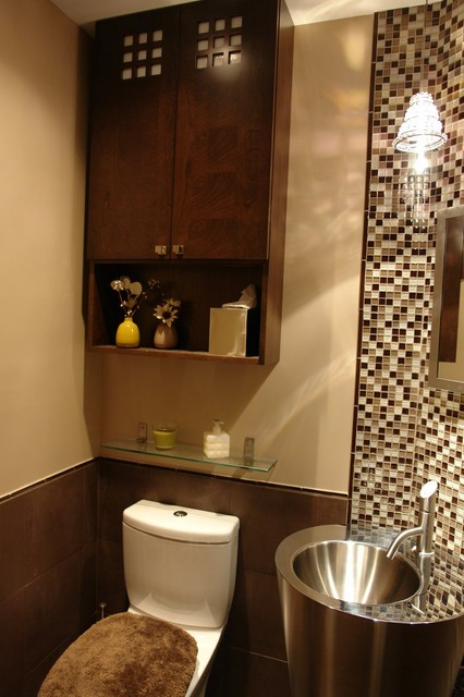 kitchen and bathrooms contemporary powder room