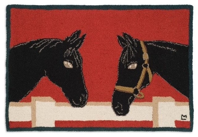 Horse Talk eclectic-rugs