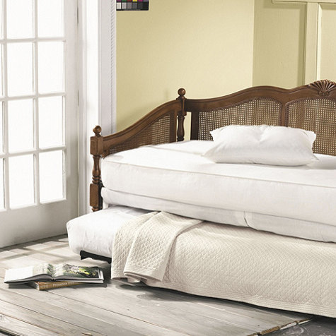 Cane Daybed with Trundle - traditional - beds - by Ballard Designs