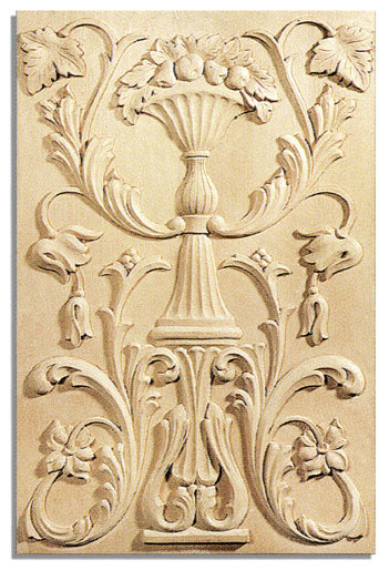 Richmond Door Panel - white oak wood (PN11OK/pl2) traditional-kitchen-cabinetry