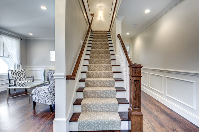 Traditional Colonial Traditional Staircase Boston