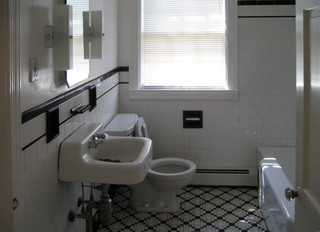 Who likes 1940 39 s tile anyway for Bathroom ideas 1940