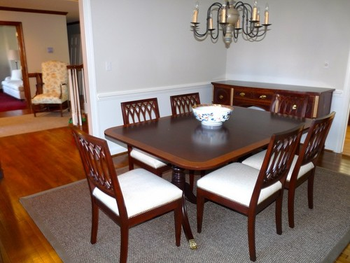 Suggestions to update a traditional dining room for Updating a traditional dining room