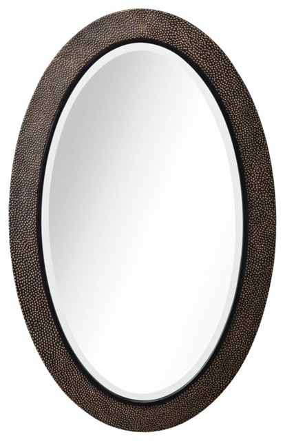 Rustic Lodge Kichler Raleigh Oval 38 High Bronze Wall