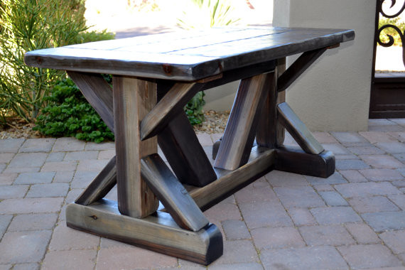 Children's Farmhouse Table by Rustic American Furniture traditional-kids-tables