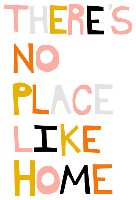 There's No Place Like Home By ashleyg contemporary-artwork