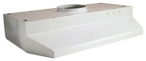 "Range Hood 42000, 30"" White modern-gas-ranges-and-electric-ranges"