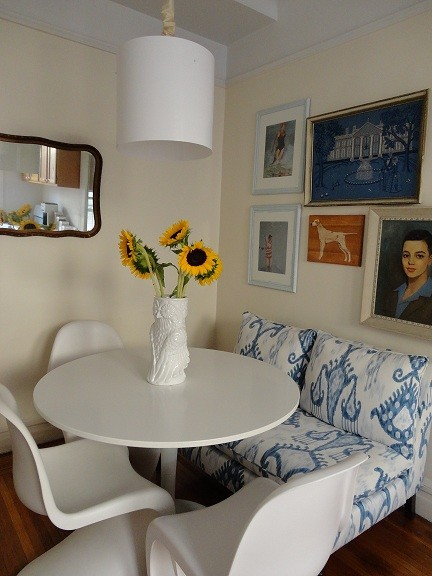 Dichotomy Interiors eclectic-dining-room