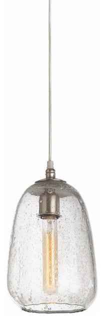 Shelton Pendant, Seedy Glass, Globular contemporary-pendant-lighting