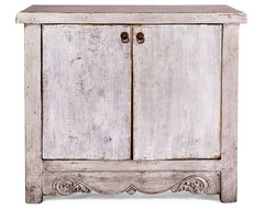 Wells Low Cabinet, Silver | Living the Look | One Kings Lane