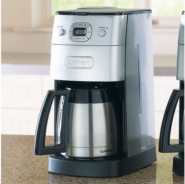 Cuisinart Automatic Grind & Brew Thermal 10-Cup Coffee Maker - Coffee Makers - other metro - by ...