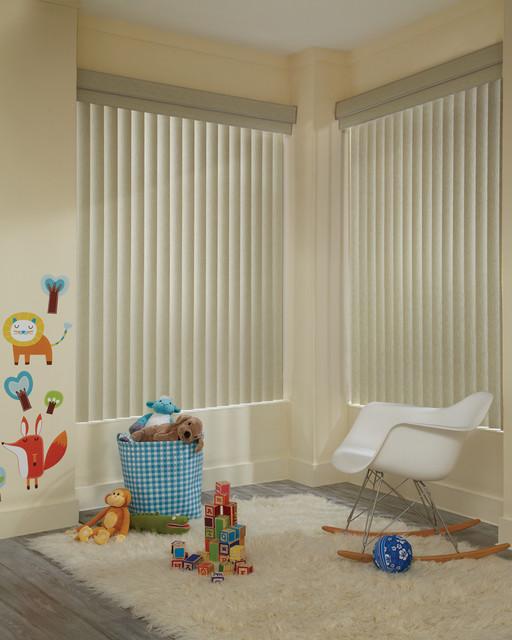 Hunter Douglas Vertical Blinds contemporary-vertical-blinds