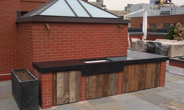 outdoor kitchen modern kitchen countertops new york