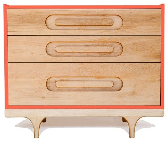 Caravan Dresser, Red modern kids dressers