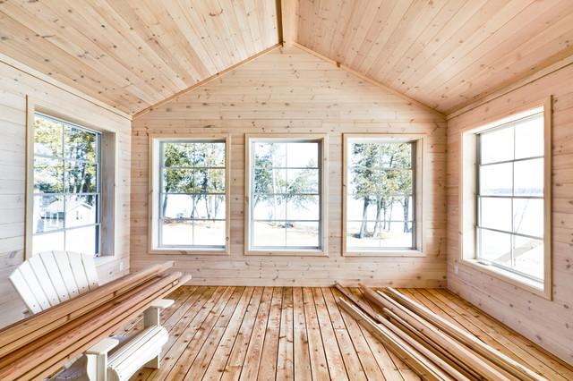 Pine Ceiling hardwood-flooring