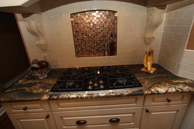 Glass Tile Backsplash Modern Tile Cleveland By