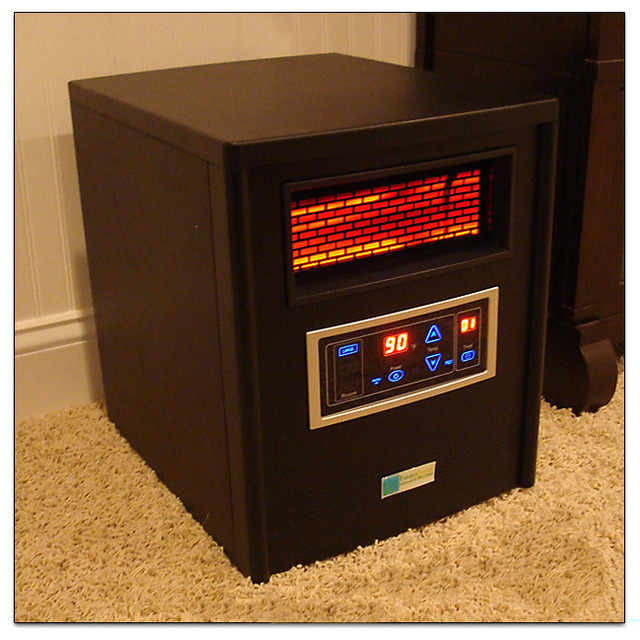 Energy Saver 2-in-1 Heater Plus Purifier contemporary-fire-pits